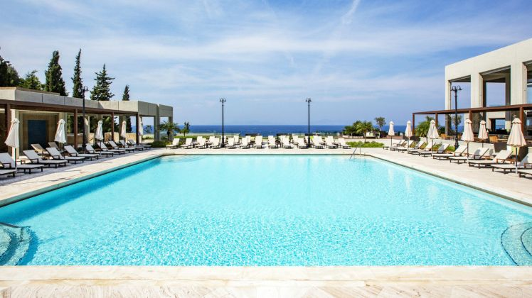 Swimming-pool-for-real-laps-at-Sheraton-Rhodes-Hotel-Greece